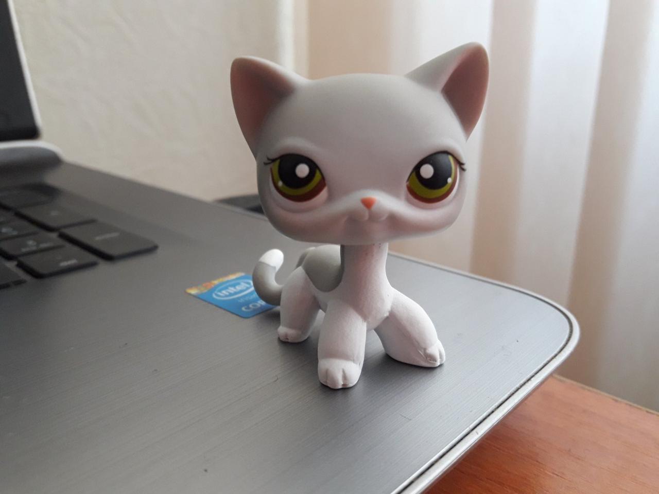 Lps littlest pet shop стоячки - лпс кошка Hasbro 138 -старая коллекция
