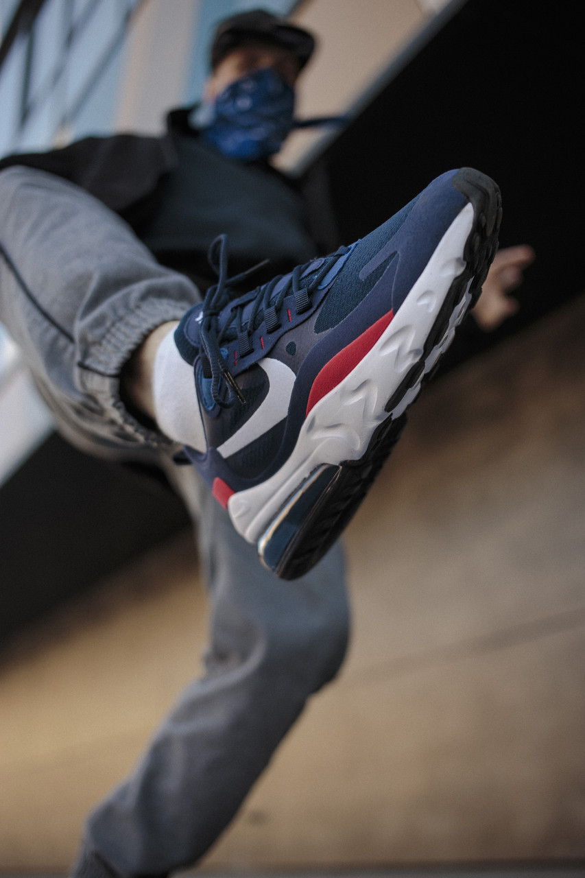 Мужские кроссовки Nike Air Max 270 Blue ( Реплика )