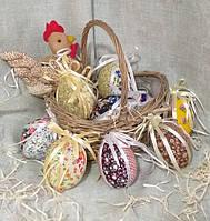 Шитые яйца к Пасхальным праздникам