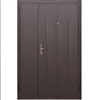 Дверь входная металлическая СтройГОСТ 7-1 метал/метал (1200*2050)
