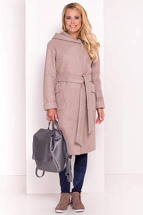 """Демисезонное женское пальто """"Анджи 7806"""", фото 2"""