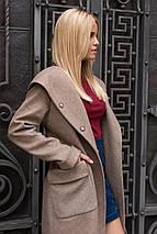 """Демисезонное женское пальто """"Анджи 7806"""", фото 3"""