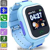 Смарт-часы детские ATRIX SW iQ400 Blue - Умные Детские Часы GPS + SIM