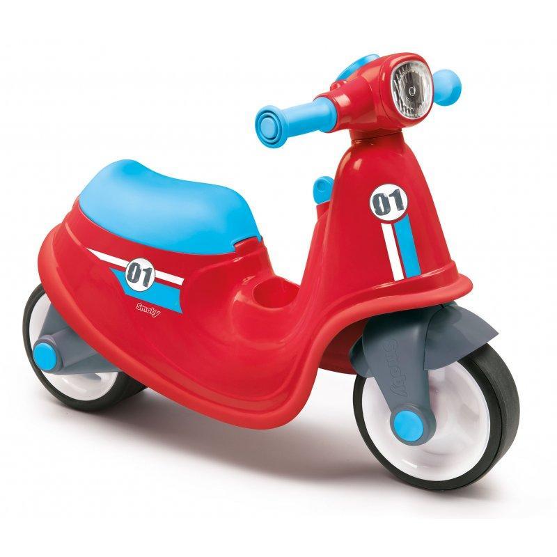Скутер беговел Smoby 721003 Красный