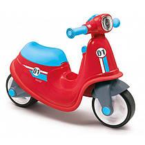 Скутер беговел Smoby 721003Красный