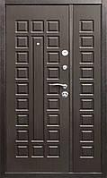 Дверь входная металлическая Йошкар метал/мдф Венге (1200*2050)