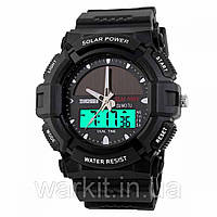 Тактические часы Skmei 1050 Black