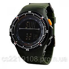 Тактические часы Skmei 0989 Olive