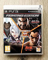 Fighting Edition (Tekken 6 Tag Tournament 2 Soul Calibur V) (англ.) (б/у) PS3, фото 1
