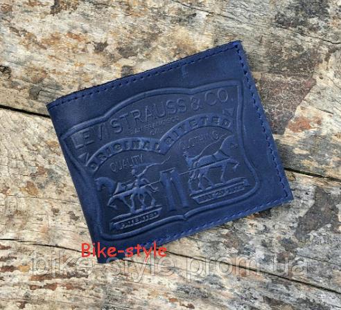 Кожаный кошелек, портмоне Levistrauss & co