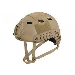 Fast PJ helmet replica with quick adjustment - Coyote, Emerson