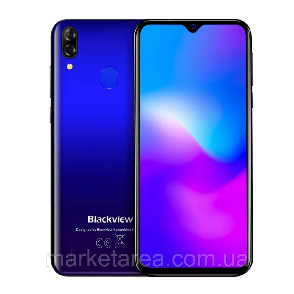 "Смартфон Blackview A60 Gradient Blue 6.1"", вырез ""капля"" RAM:1Gb. ROM: 16Gb.Quad Core 4080 мАч"