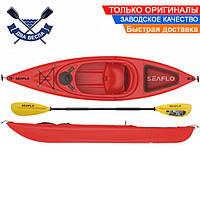 Корпусный каяк SF-1004 одноместный + весло, Sit-in, HDPE-RM, красный, 305 см
