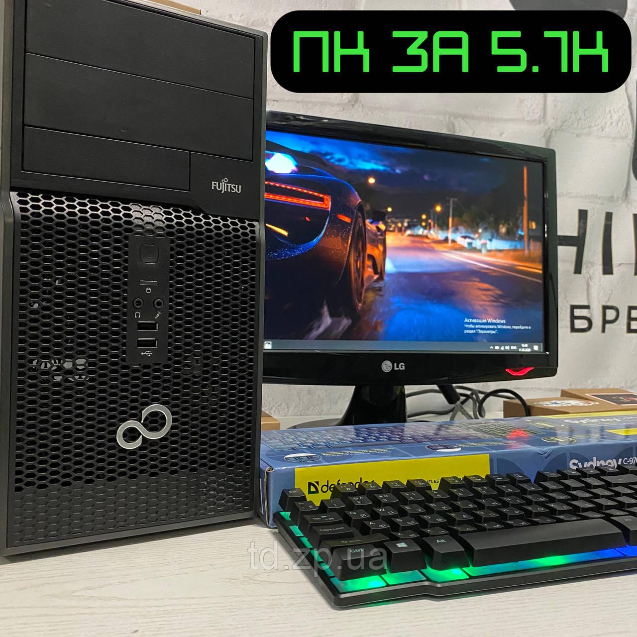 Игровой компьютер Dell Intel Core i3-3220 👍GTX 750ti 2Gb👍 RAM 8Gb DDR3 + 320Gb HDD