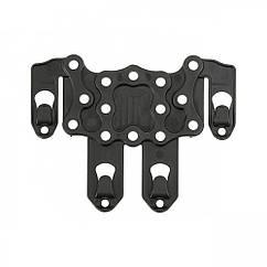 Крепление для кобуры на бронежилет PALS/MOLLE adapter platform for holster - Black