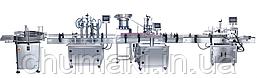 Автоматическая Линия Розлива ARL-4-100 Укупуровки и Этикетировки