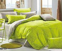 Качественное постельное белье Стильные завитки, полуторный комплект