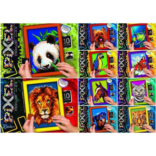 """Детский Набор для творчества """"Мозайка Pixel"""" в ассортименте Danko Toys ОО-09-50"""