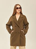 Стильне жіноче пальто-піджак у 3 кольорах ПВ-164
