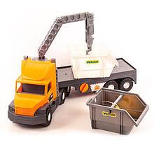 Машина Super Tech Truck со строит-ным матер.