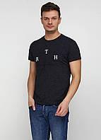 Грифельно-серая футболка с надписью MSY