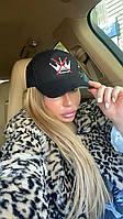 Бейсболка Doratti женская актуальная модный принт Стоп Корона разные цвета Shdor160