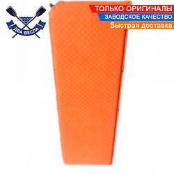 Самонадувающийся коврик TRI-021 до 130 кг, 188x65x5 см, c кнопками