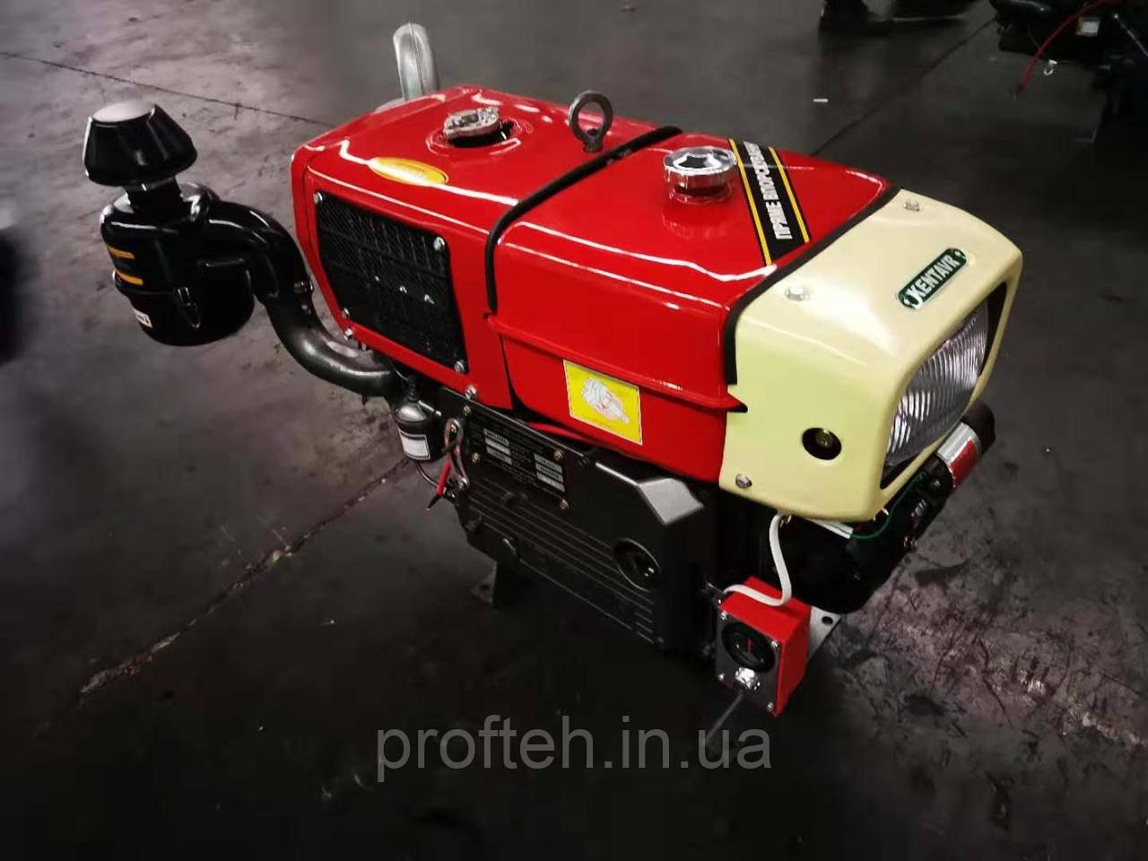Дизельный двигатель для минитрактора Кентавр ДД1110ВЭ (20,0 л.с., электростартер)