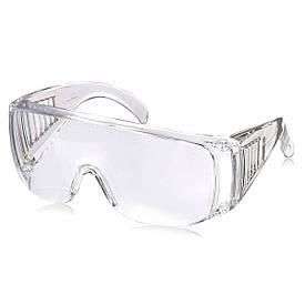 Очки защитные для защиты глаз от брызг твердых веществ