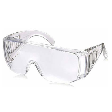 Очки защитные для защиты глаз от брызг твердых веществ, фото 2