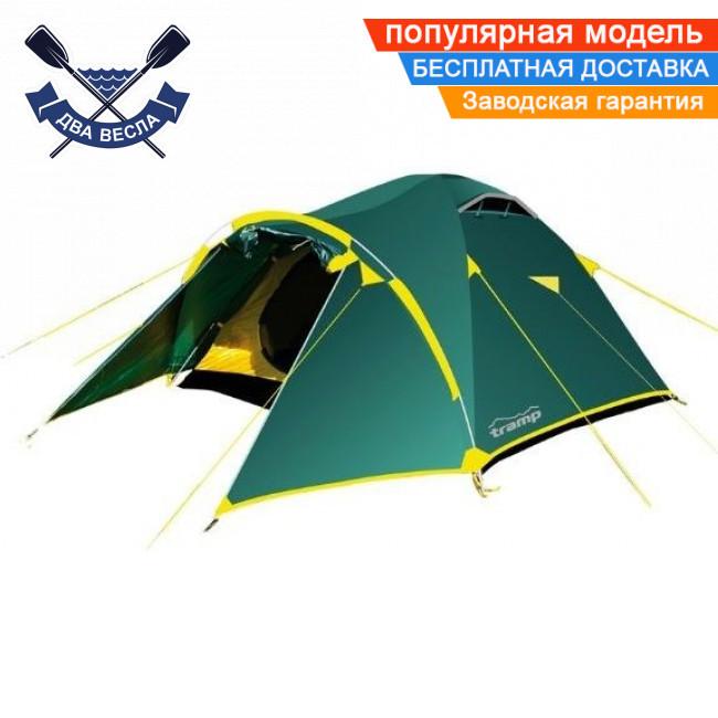 Трехсезонная палатка Lair 4 (V2) четырехместная 410х220х140 см, 5,5 кг, 2 входа