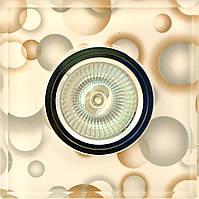Точечный светильник MR16 RG005 L/47 CH пузырьки