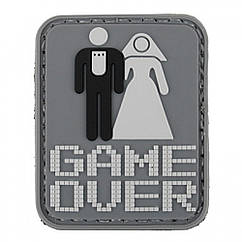 ПВХ Патч GAME OVER