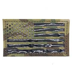 ПВХ Патч USA FLAG - Multicam