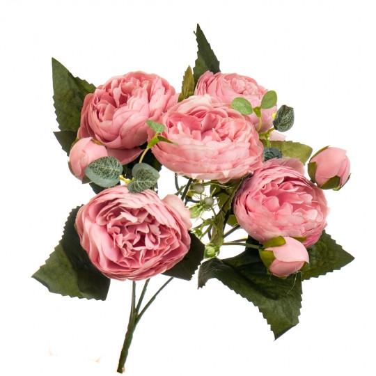 """Цветочный букет """"Розовый фламинго"""""""