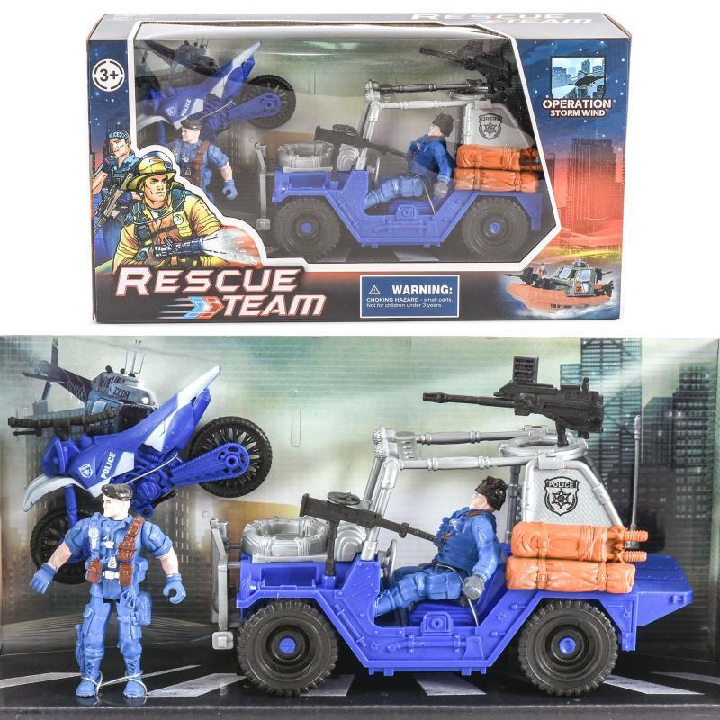 """Набор спасателей """"Rescue team"""" маленький"""