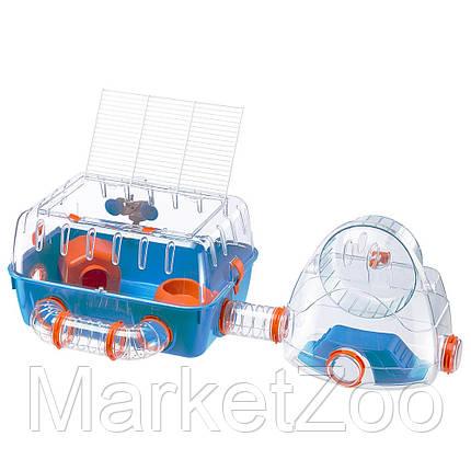 Клетка с мини-спортзалом Ferplast COMBI 2 для хомяков, фото 2