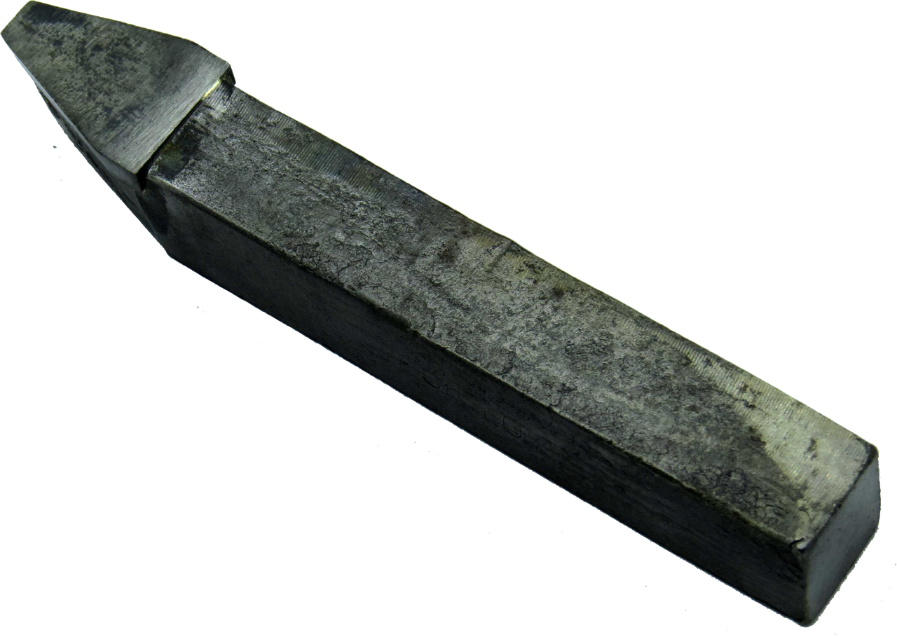 Резец канавочный клиноременной передачи 25х20х140 Т15К6 профиль В