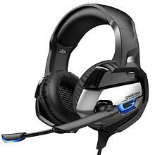 Навушники Onikuma K5 Black Grey
