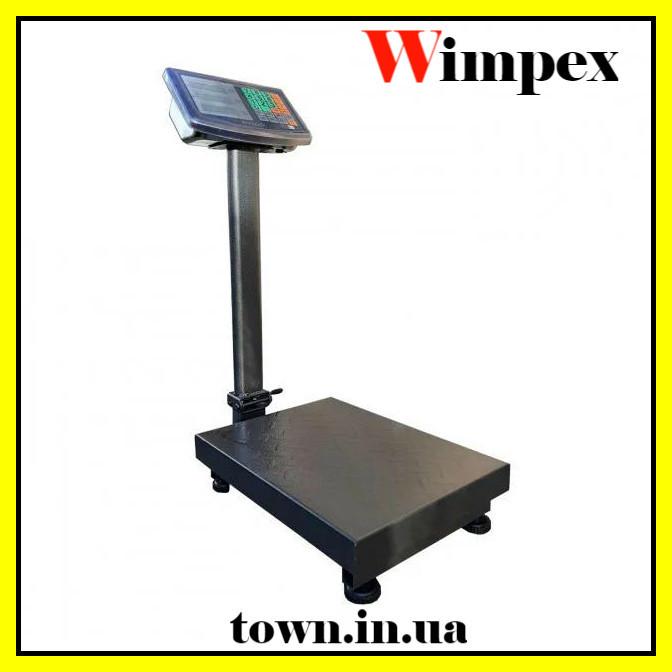 Весы товарные электронные Wimpex до 120 кг с усиленной платформой