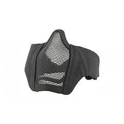Маска защитная STALKER EVO STEEL с креплением на шлем - Black, ULTIMATE TACTICAL