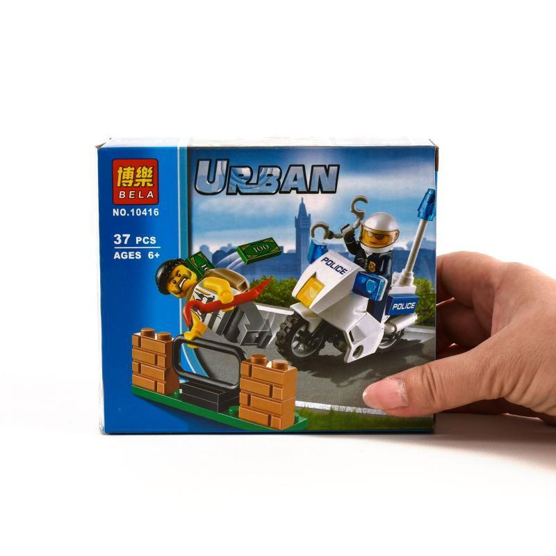"Конструктор Bela Urban ""Погоня за вором"" 37 деталей"