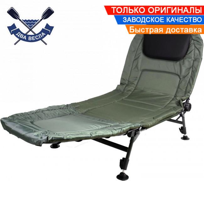 Коропова розкладачка крісло Ranger Easyrest посилена до 160 кг, 31-40,5х192х71,5 см, 7,3 кг, для нерівностей