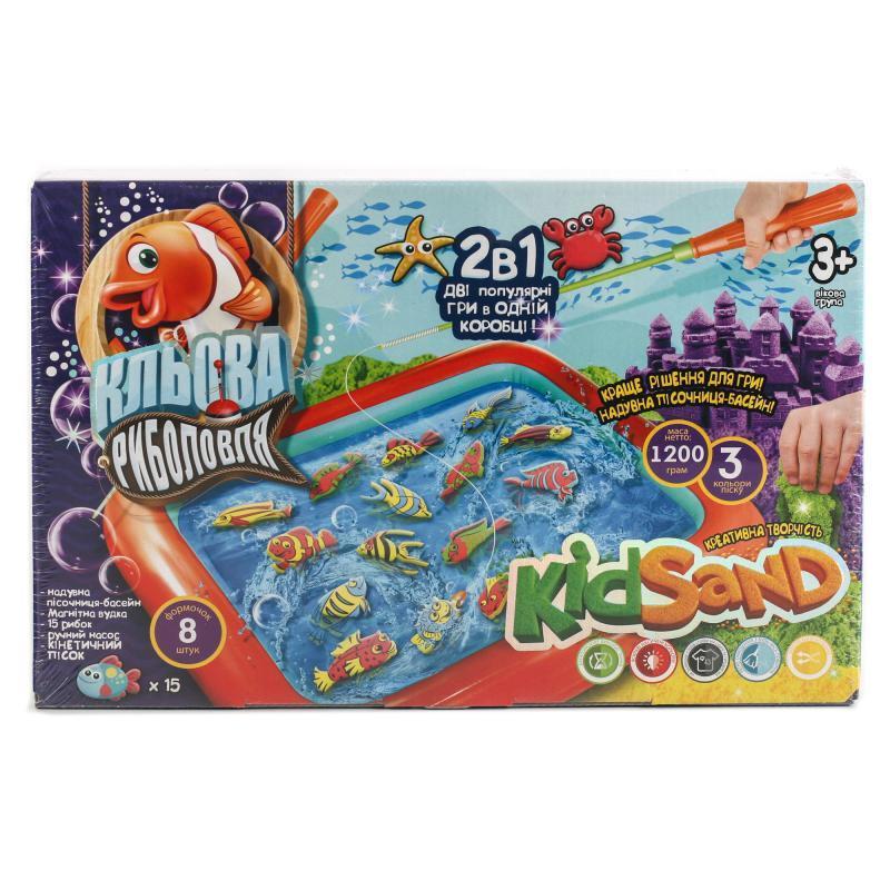 """Игра""""2 в 1:""""Кльова риболовля"""" та """"Кінет.пісок"""" УКР"""