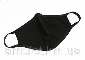 Маска мужская и женская защитная тканевая многоразовая (комплект - 3шт), фото 2
