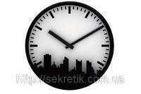 Часы настенные «Город»