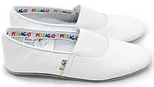 Чешки Pellagio белые КОЖА р. 24, 25, 26, 27, 28, 29, 30, 31, 32, 33, 34, 35