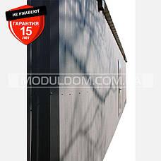 Модуль (9 х 3 м.), под внутреннюю отделку, на основе цельно-сварного усиленного металлокаркаса., фото 3