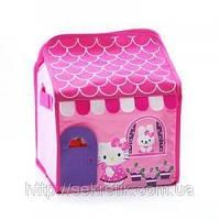"""Тканевая шкатулка для для детских игрушек """"Hello Kitty"""""""