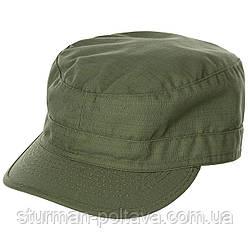 Кепка армійська колір олива матеріал ріп-стоп бавовна 100% MFH Німеччина